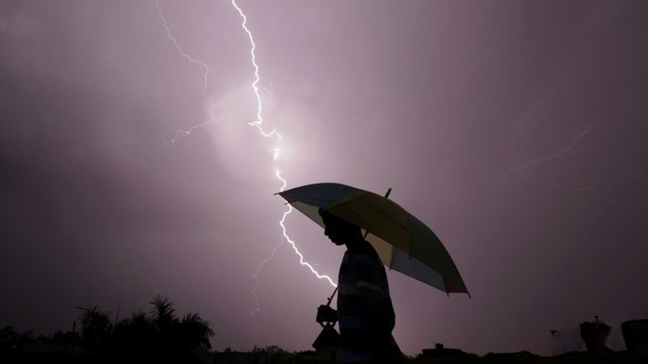 Lightning kills thousands of Indians every year, most of them farmers working the fields. PHOTO: AFP/ RAKESH BAKSHI