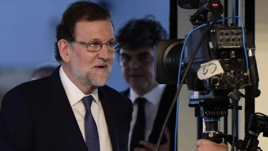 Mariano Rajoy/ AFP PHOTO / JAVIER SORIANO