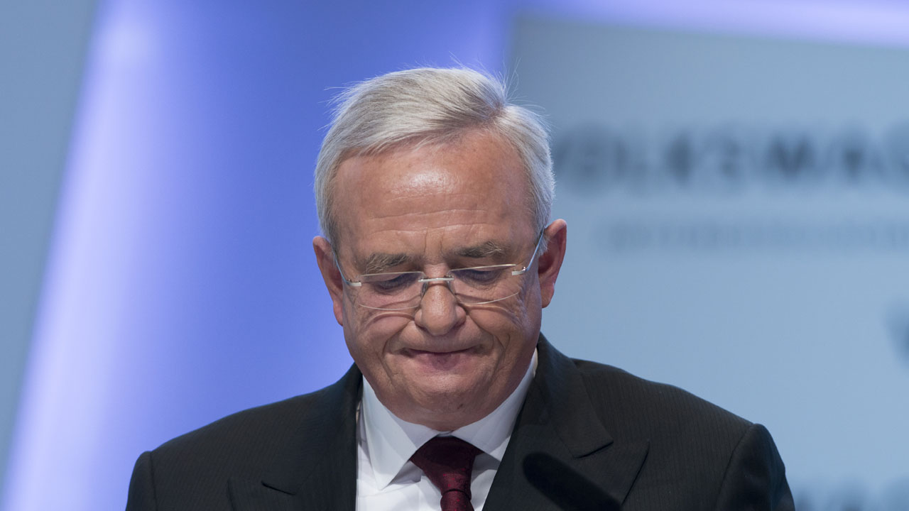 Martin Winterkorn / AFP PHOTO / JOHANNES EISELE