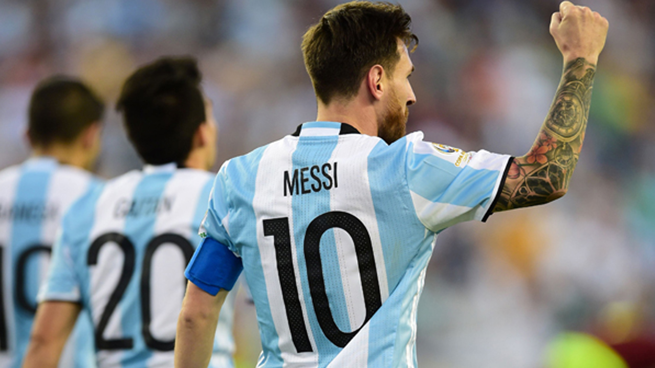 6431ddd0e Messi begins road to Russia as Argentina chase World Cup glory