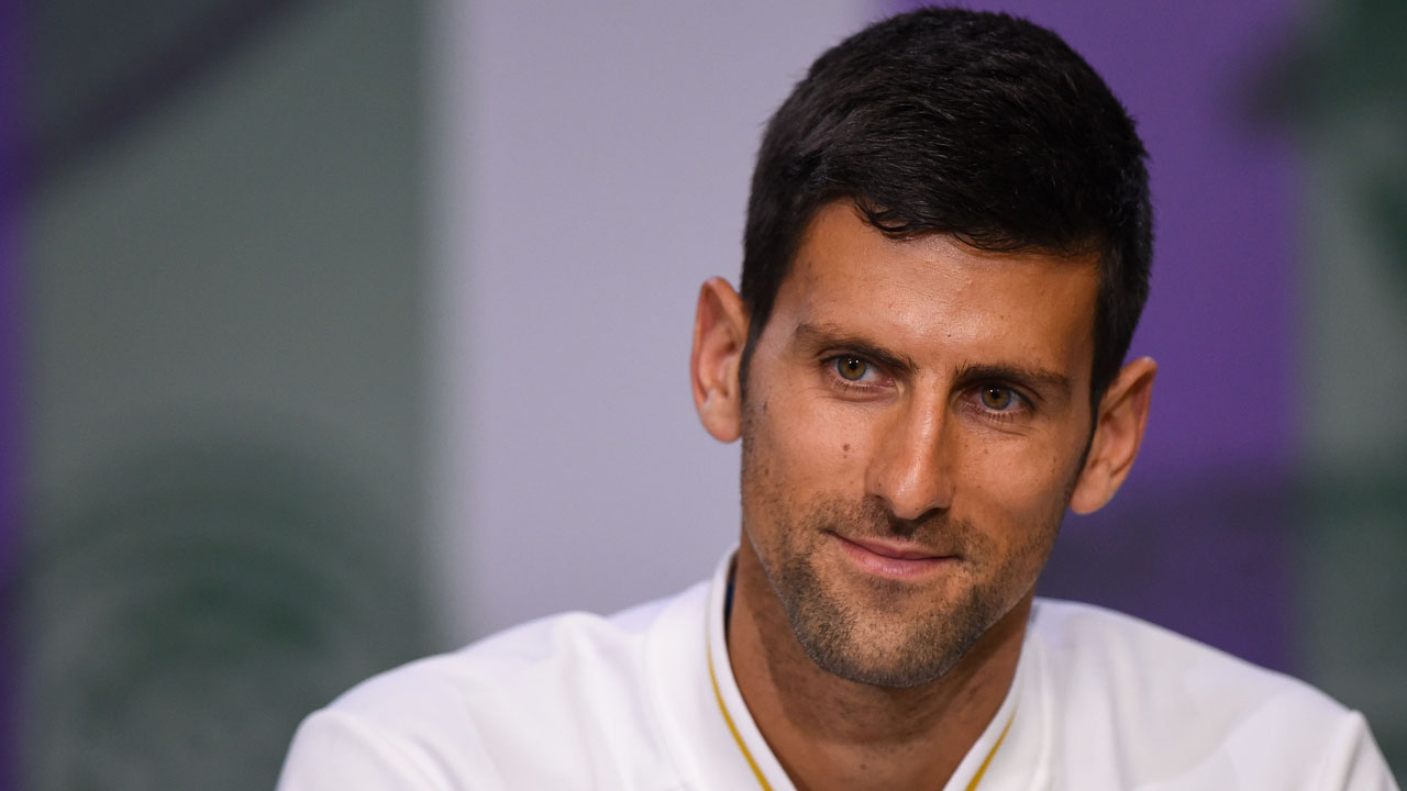 Serbia's Novak Djokovic. / AFP PHOTO / POOL / AELTC / Florian EISELE /