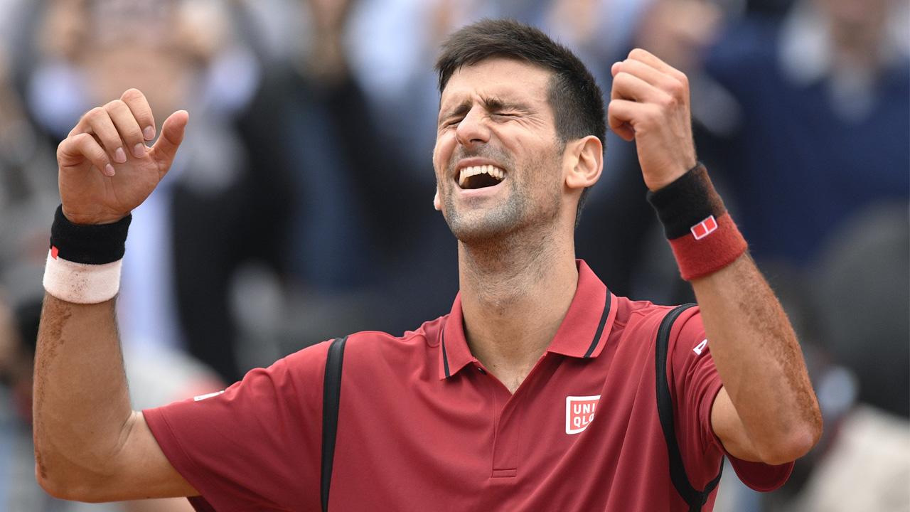 Serbia's Novak Djokovic / AFP PHOTO / MARTIN BUREAU