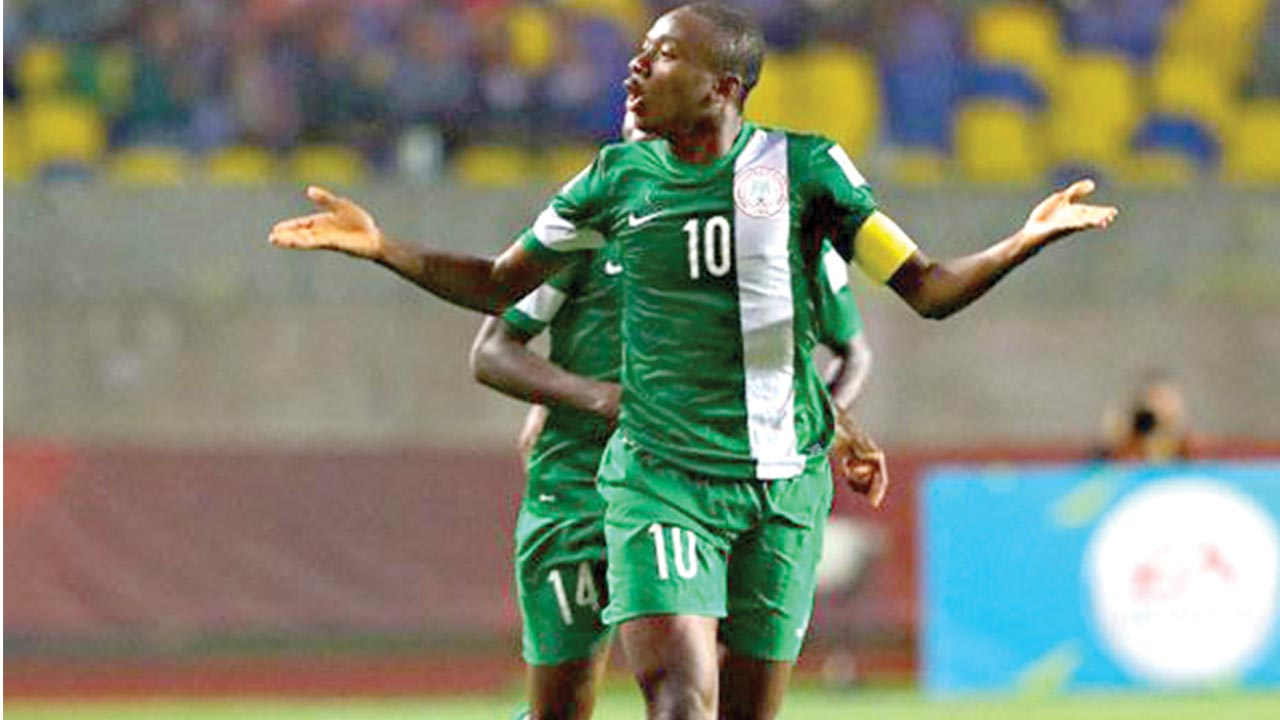 Kelechi Nwakali will wear Arsenal's number 25 jersey made popular by Super Eagles' former captain, Nwankwo Kanu. PHOTO: AFP.