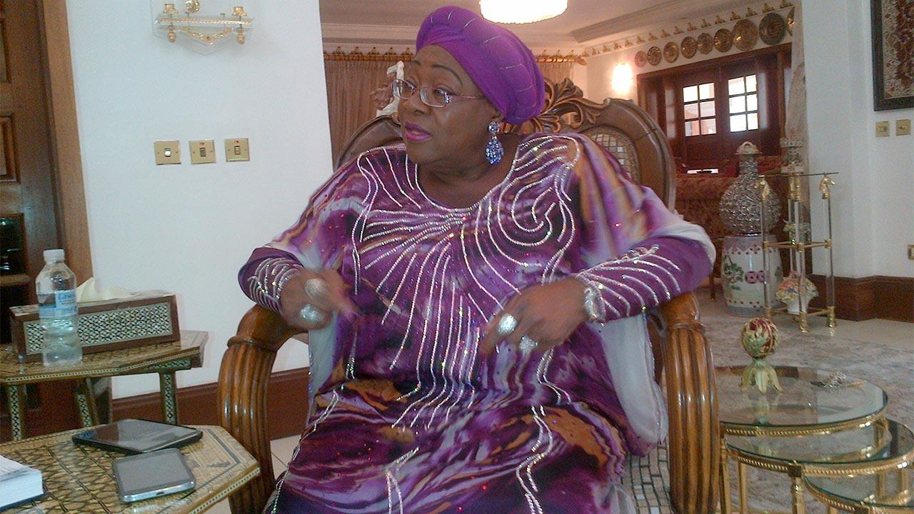 Prof. Ndi Okereke-Onyiuke, Former Director General, Nigeria Stock Exchange.