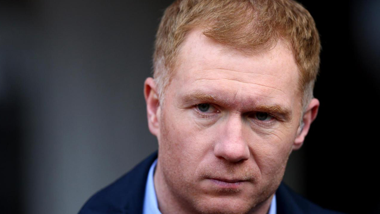Scholes won 11 Premier League titles, as well as two Champions League trophies, during more than 700 appearances for English giant Manchester United before retiring in 2013. PHOTO: Getty Images
