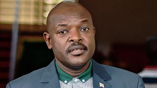 Pierre Nkurunziza. PHOTO: AFP