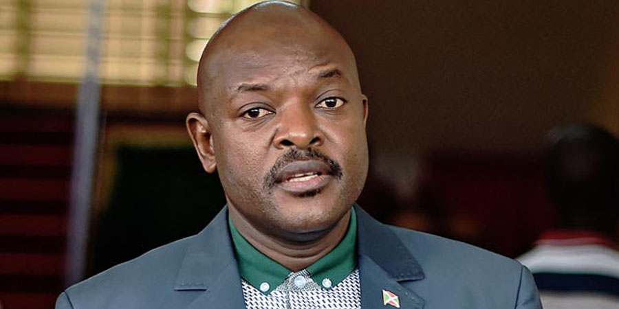 Pierre Nkurunziza. PHOTO: AFP