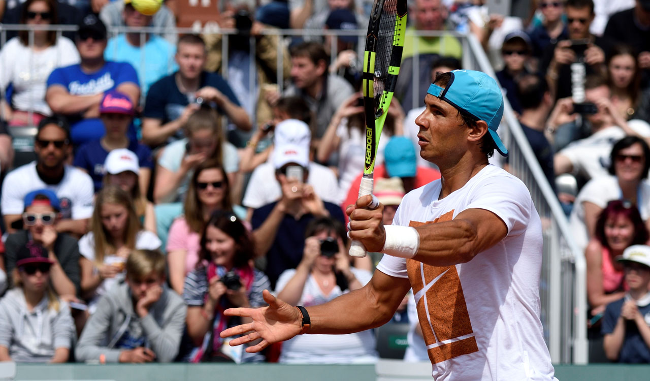 Spain's Rafael Nadal / AFP PHOTO / ERIC FEFERBERG