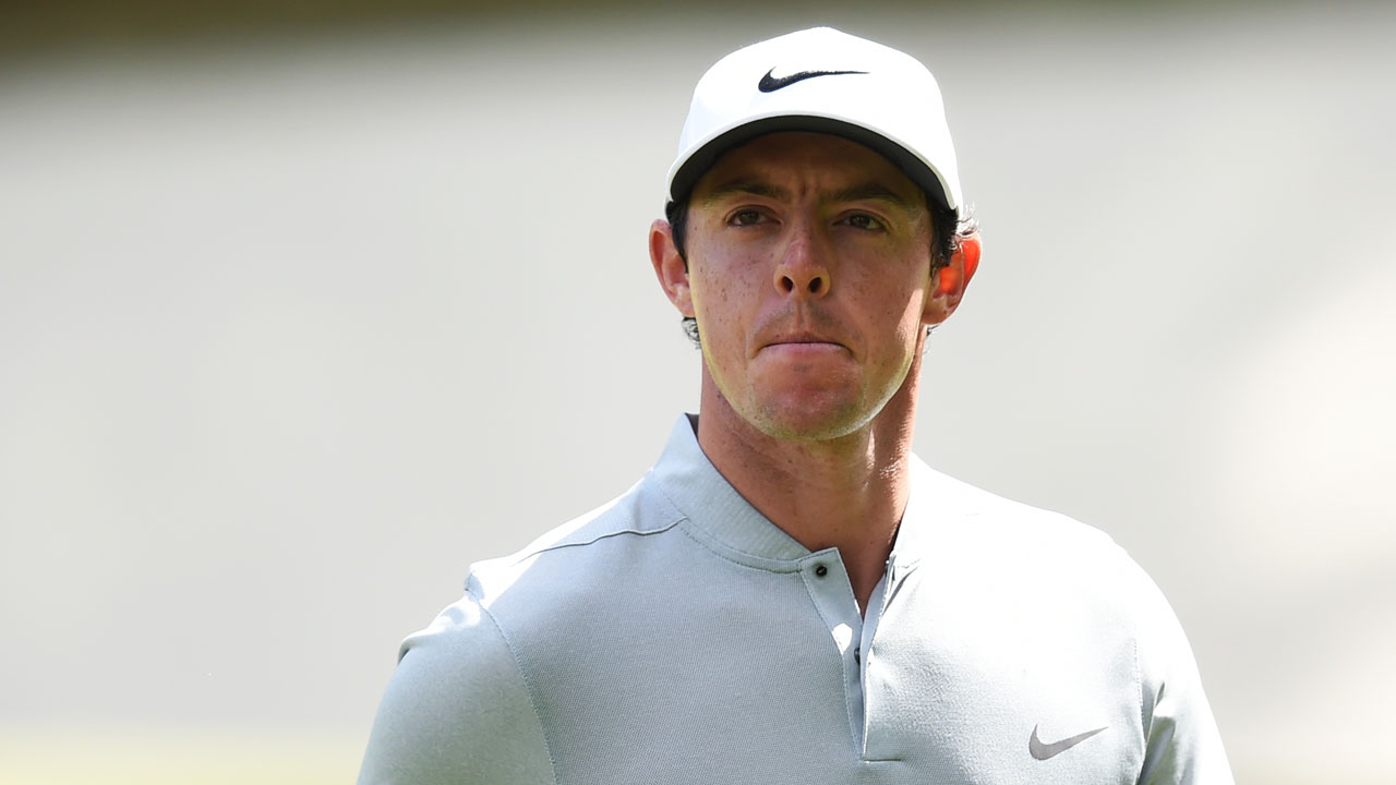 Rory McIlroy. AFP PHOTO / Jim Watson