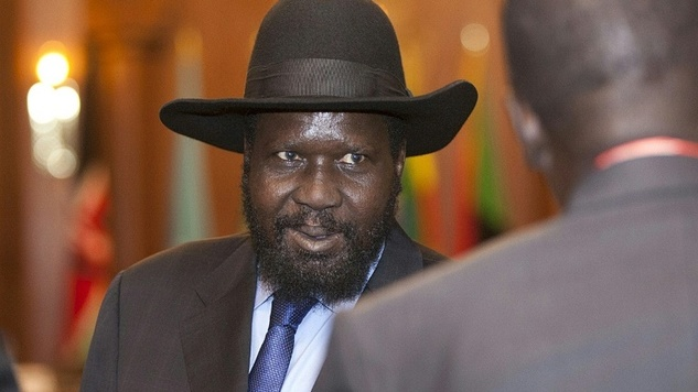 President Salva Kiir of South Sudan. PHOTO:AFP