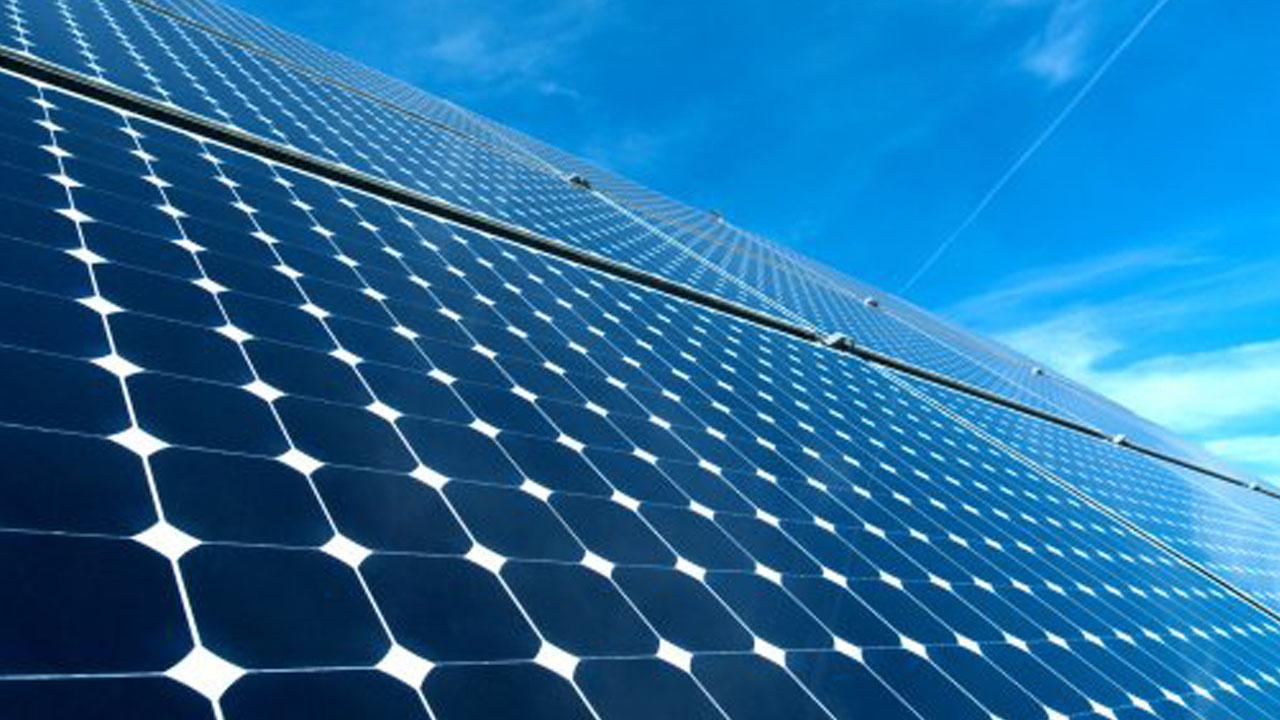 Solar panel PHOTO:AFP