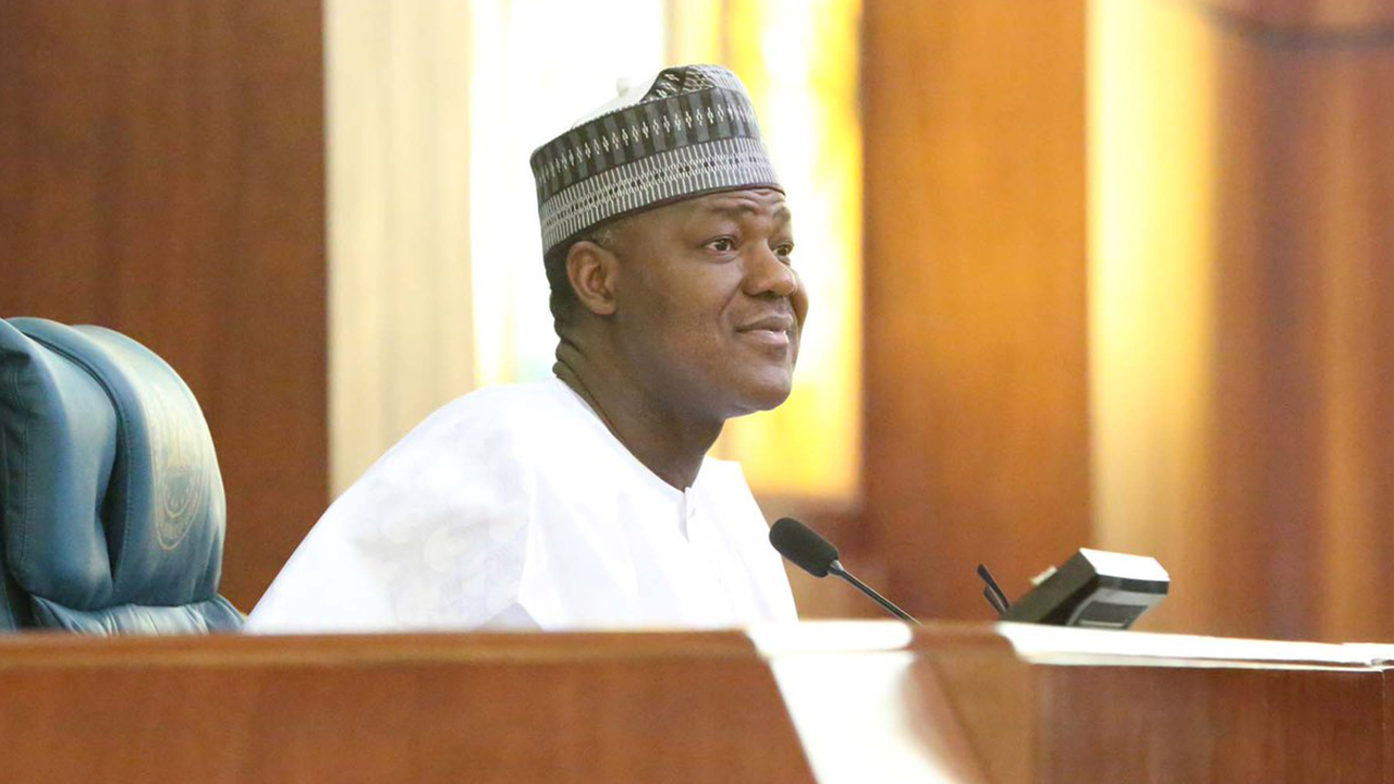 Speaker, House of Representatives, Yakubu Dogara PHOTO: TWITTER/DOGARA
