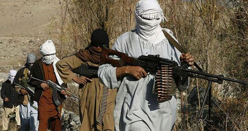 File photo shows Taliban militants in an undisclosed location in Afghanistan. PHOTO: AFP