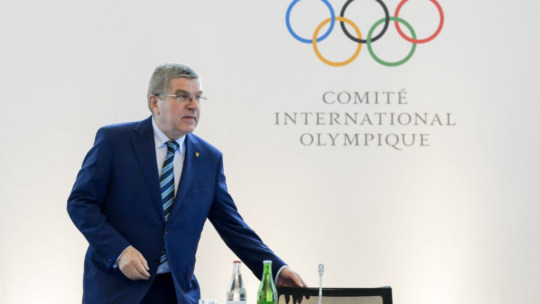 International Olympic Committee (IOC) president Thomas Bach arrives at the opening of an Olympic summit on June 21, 2016 in Lausanne.  For Russia's track and field stars, the meeting of Olympic executives may offer the last chance to compete at the Games in Rio de Janeiro. Last week, the International Association of Athletics Federations (IAAF) upheld a ban on Russian athletes, first imposed in November, following revelations of state-sponsored doping and massive corruption riddling the nation's track and field programme. / AFP PHOTO / FABRICE COFFRINI