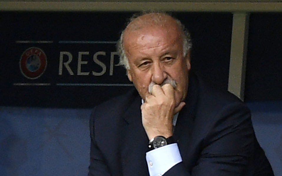 Vicente del Bosque. / AFP PHOTO / MARTIN BUREAU