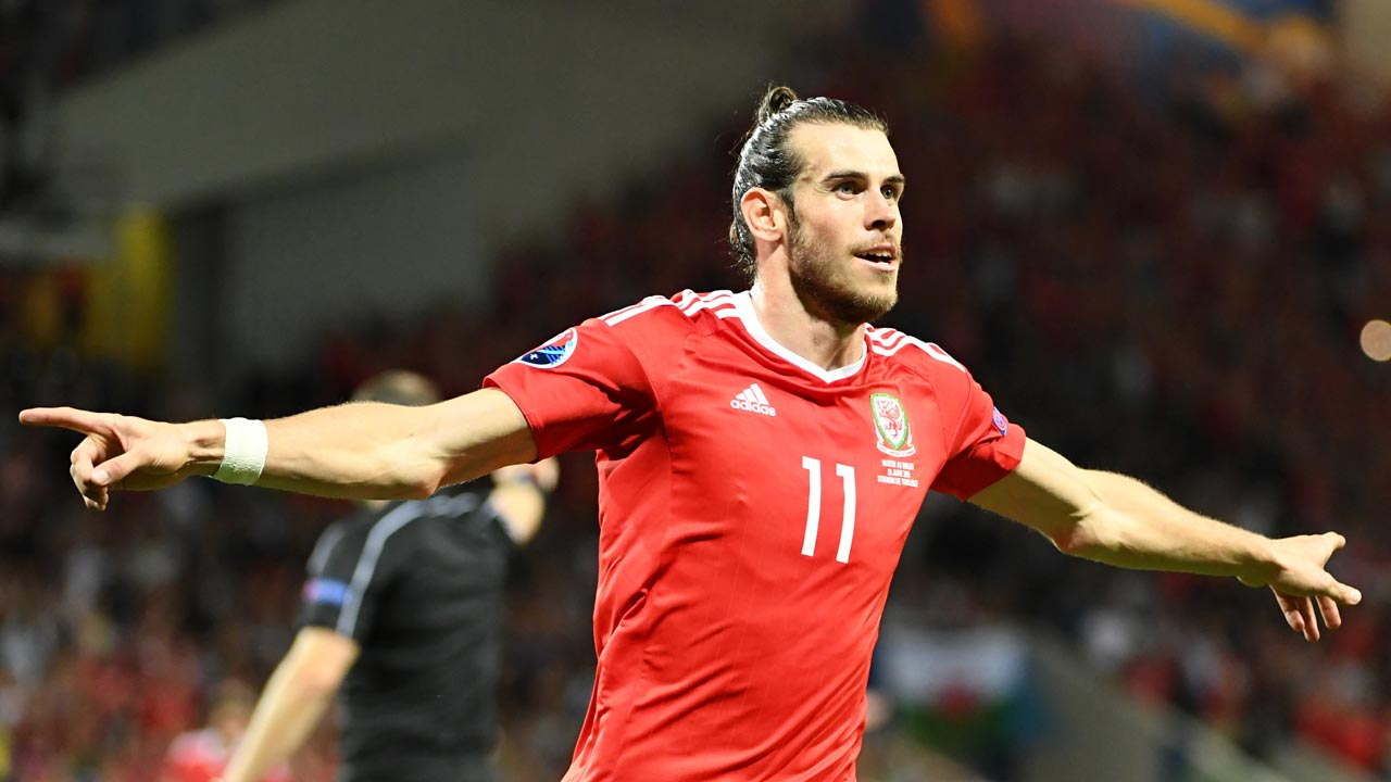 Wales' forward Gareth Bale. PHOTO: PASCAL GUYOT / AFP