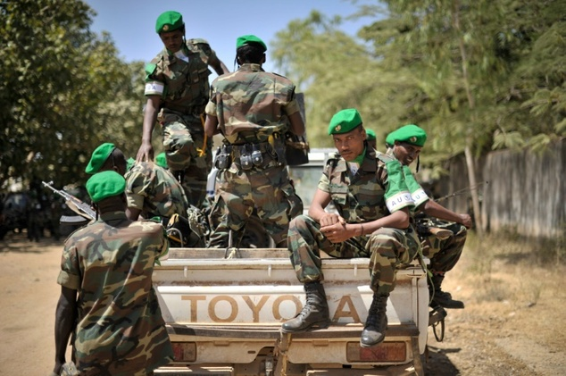 Ethopian soldiers are serving with the African Union force in Baidoa, Somalia Tobin Jones (AU UN IST/AFP/File)