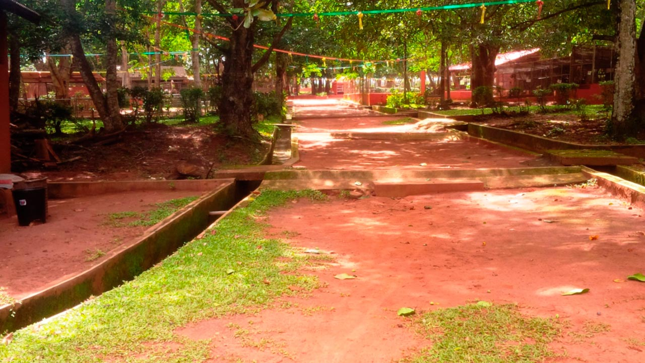 Entrance of Ogba zoo
