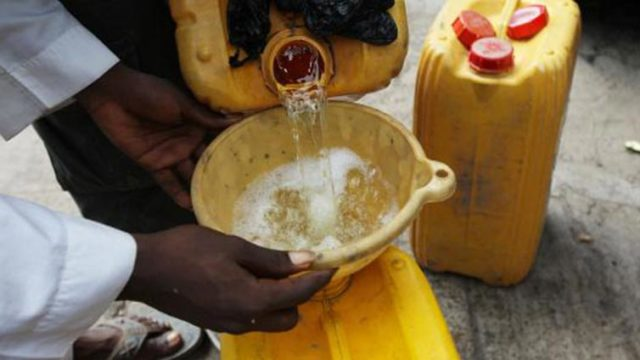 DPR destroys 1,000 containers used for selling adulterated kerosene in Akwa Ibom