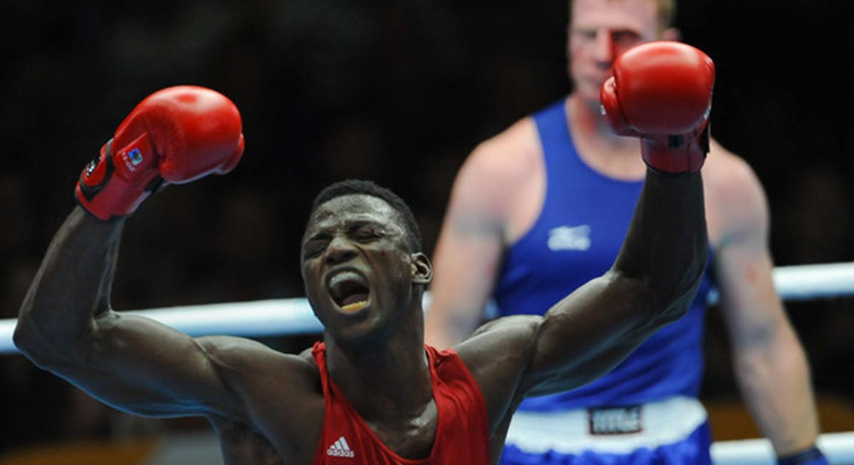 Efe Ajagba is Nigeria's sole entry to the Rio Olympics boxing event.