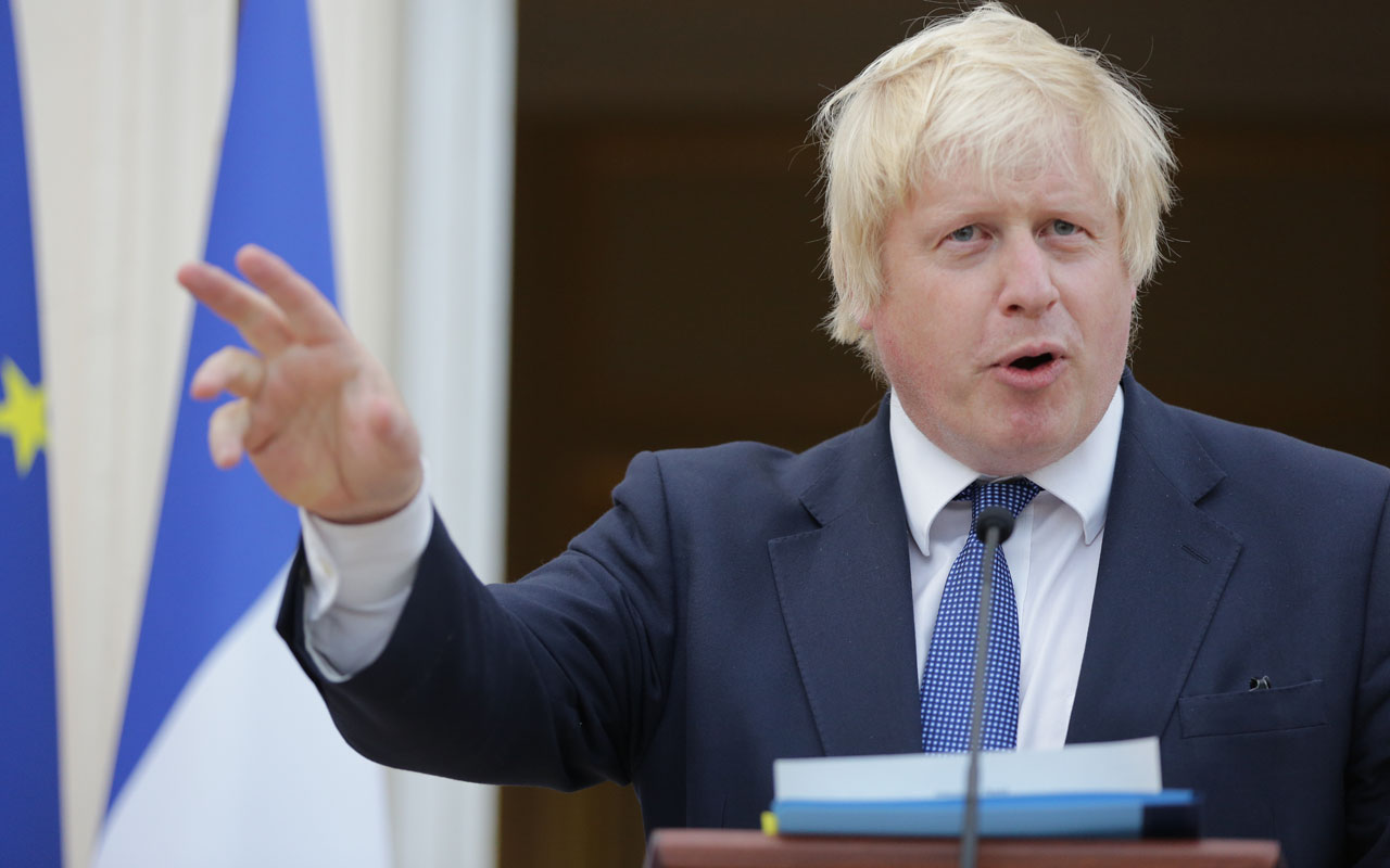 British Foreign Secretary Boris Johnson. / AFP PHOTO / DANIEL LEAL-OLIVAS