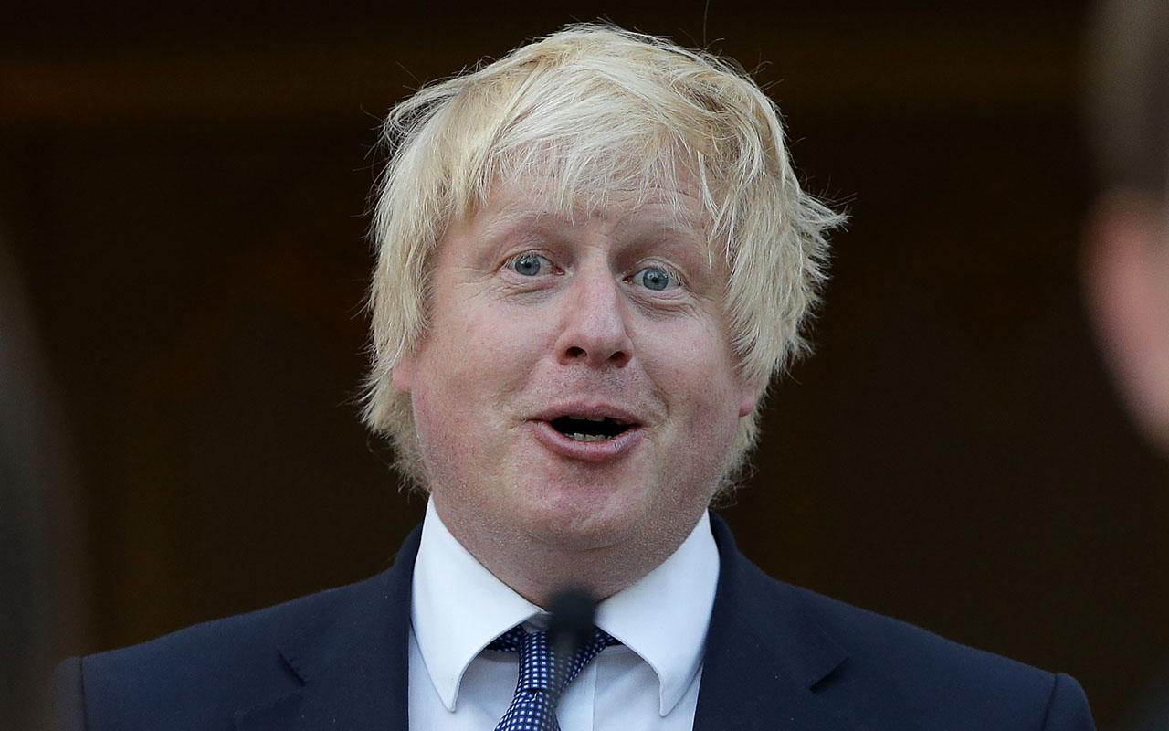 British Foreign Secretary Boris Johnson. / AFP PHOTO / DANIEL LEAL-OLIVAS
