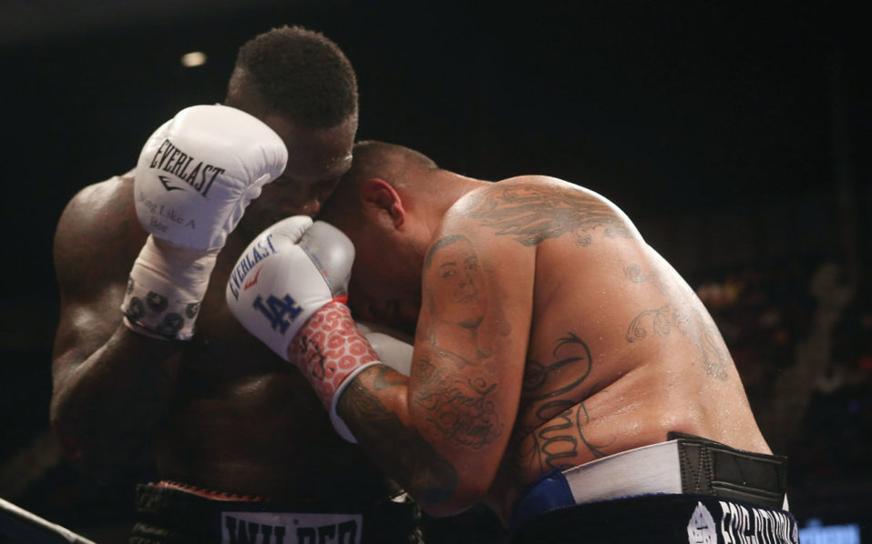 Boxing.  David A. Smith/Getty Images/AFP