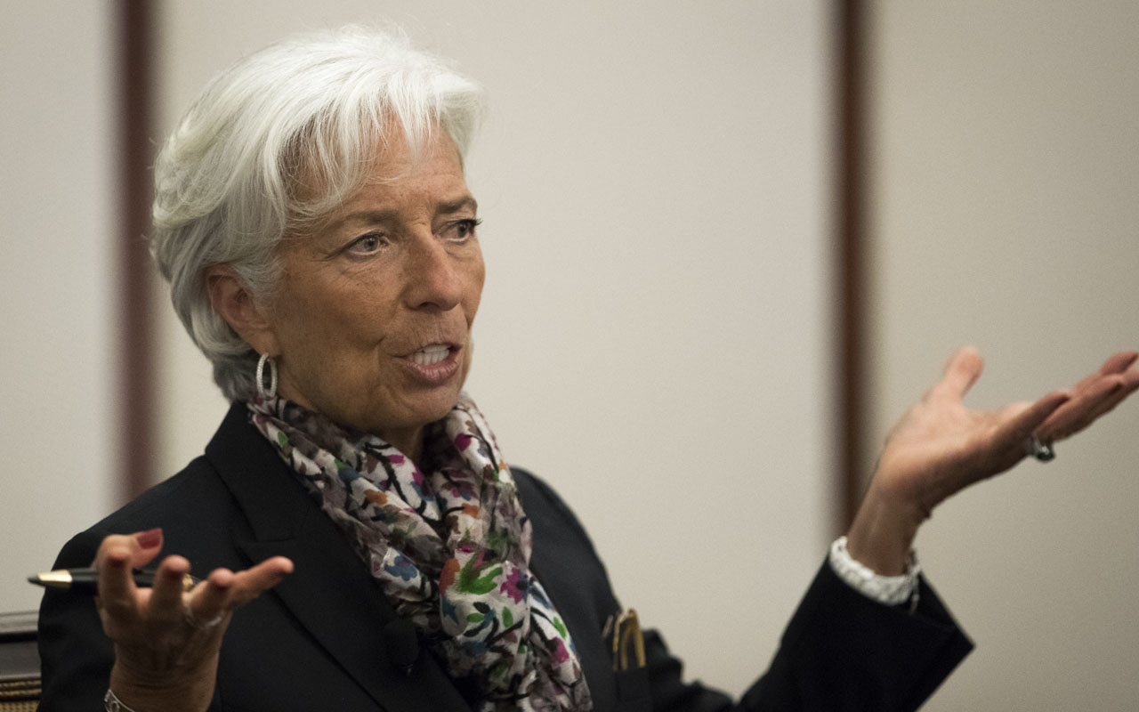 Christine Lagarde. Drew Angerer/Getty Images/AFP