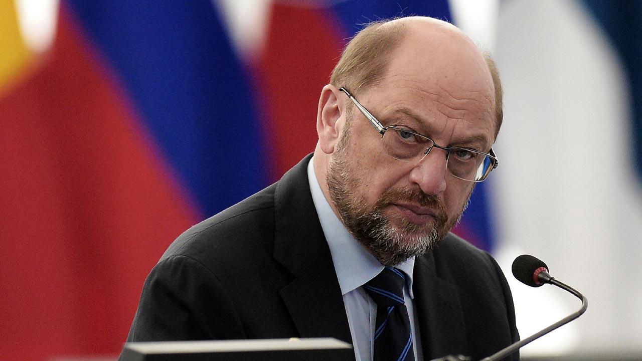 European Parliament President Martin Schulz.   FREDERICK FLORIN / AFP