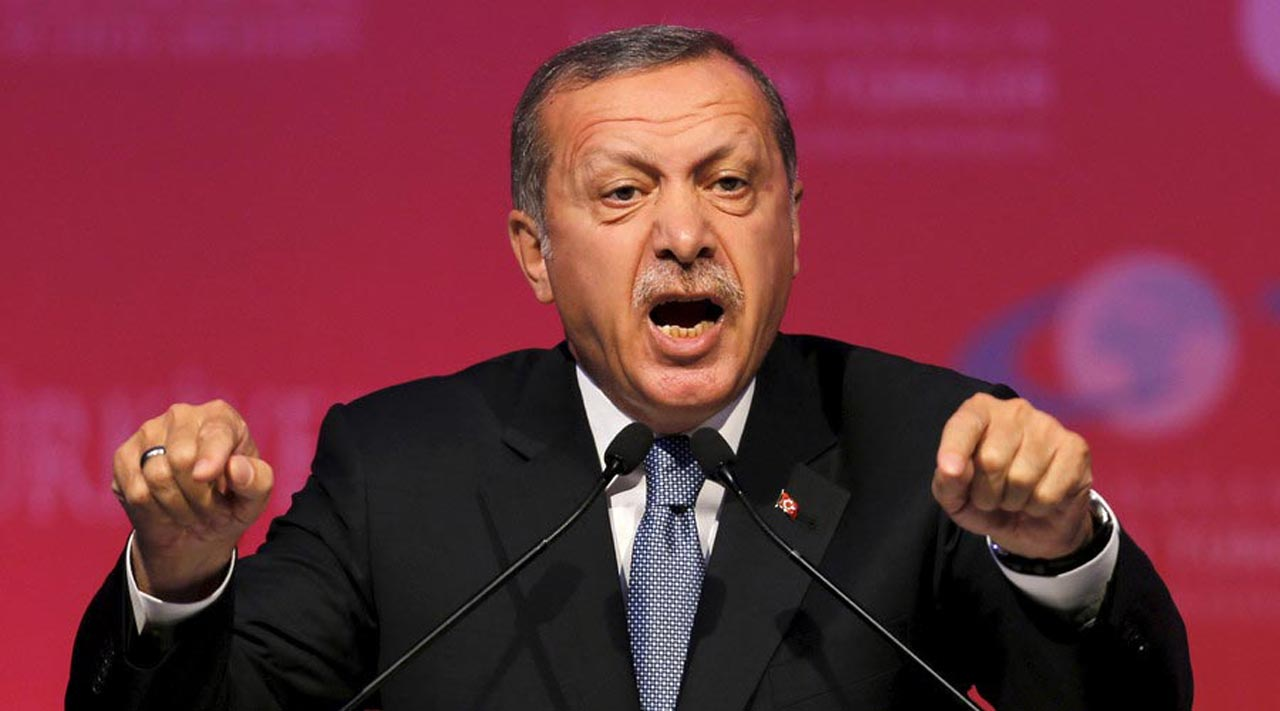 Turkey's President Recep Tayyip Erdogan. PHOTO: AFP