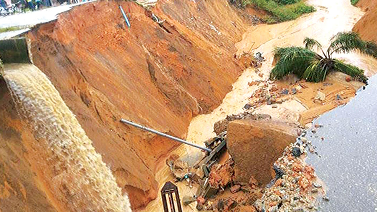 Erosion is devastating South-East zone