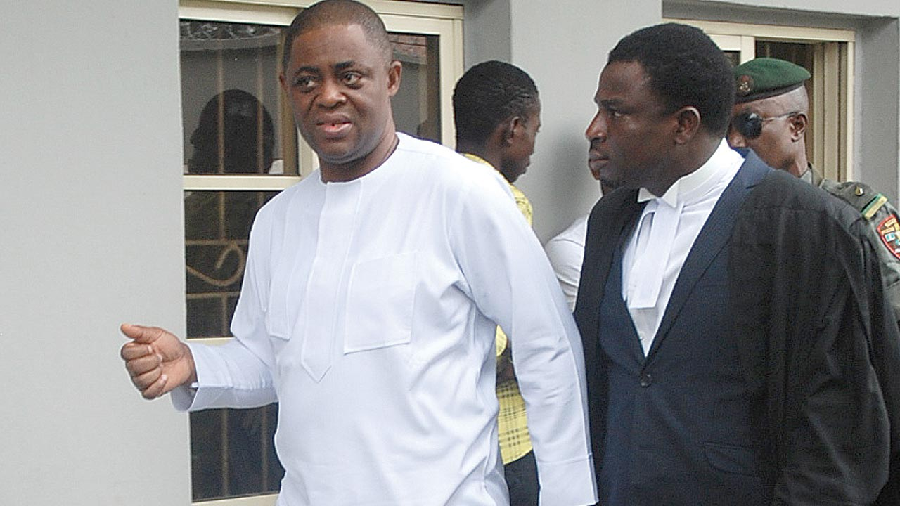 Former Minister of Aviation, Femi Fani-Kayode.