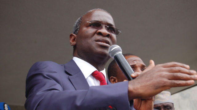 Fashola commissions transmission substation in Lagos