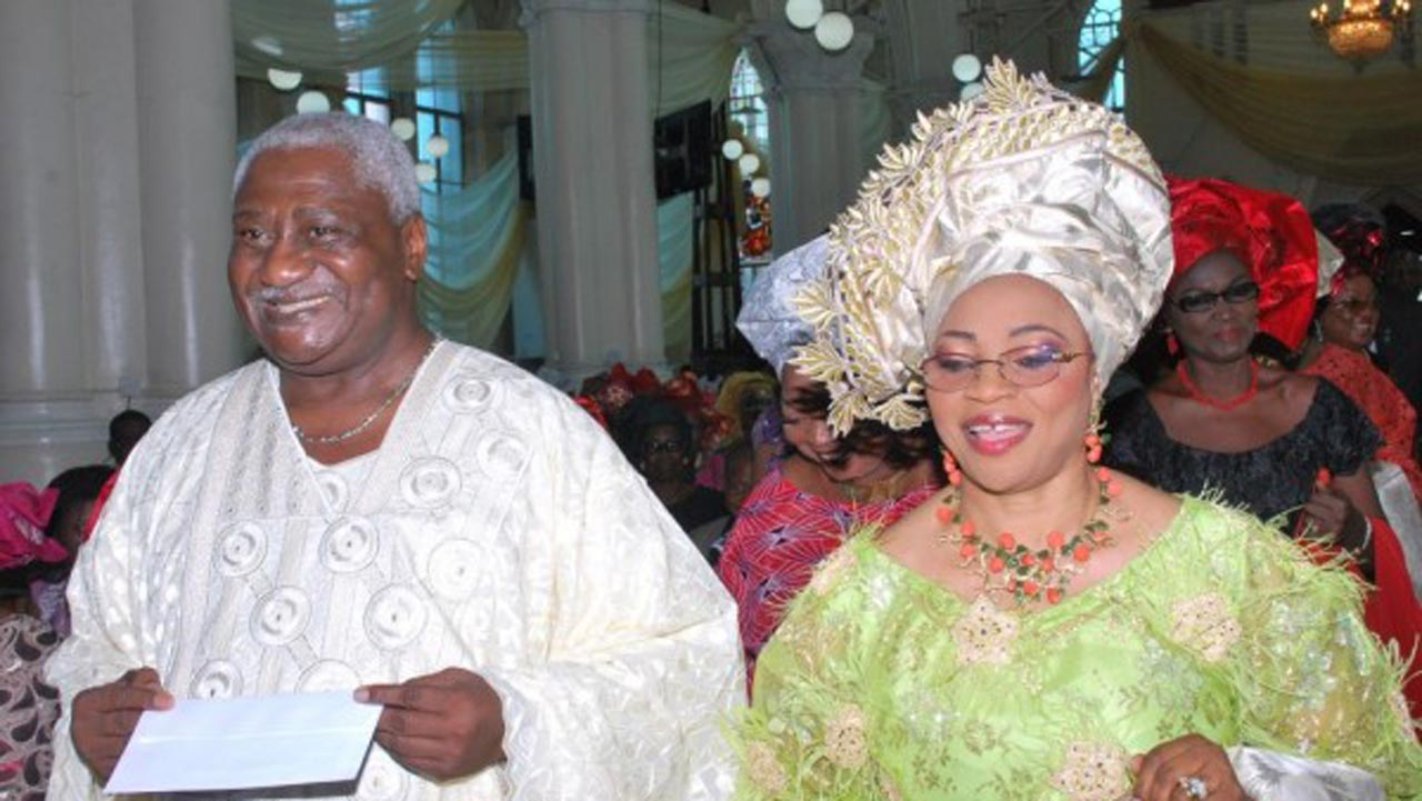 Folorunsho alakija wedding