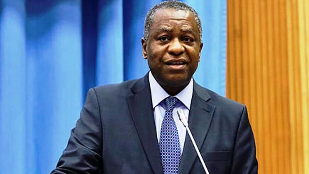 Nigeria's minister of foreign affairs, Geoffrey Onyeama. PHOTO: TWITTER/ GEOFFREY ONYEAMA