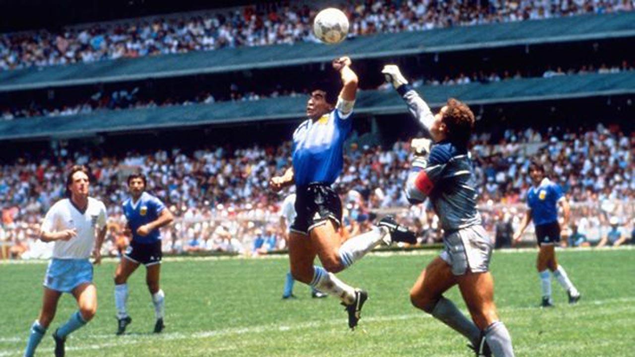 Maradona: The 'hand of God' lives on