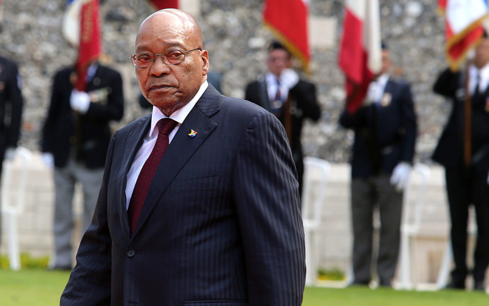 South African President Jacob Zuma. / AFP PHOTO / FRANCOIS NASCIMBENI