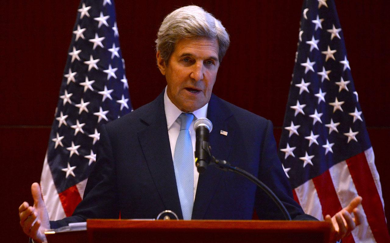 US Secretary of State John Kerry / AFP PHOTO / HOANG DINH NAM