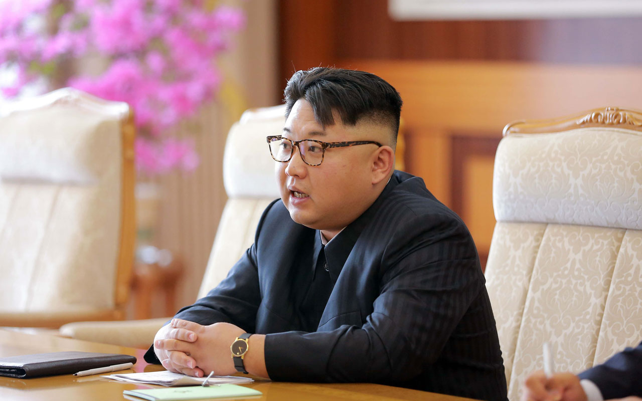 Kim Jong-Un / AFP PHOTO / KCNA VIA KNS / STR