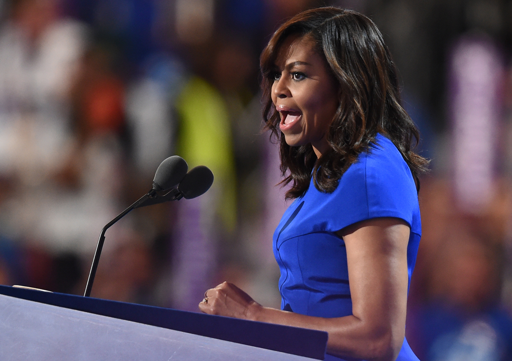 US First Lady Michelle Obama/ Robyn BECK / AFP