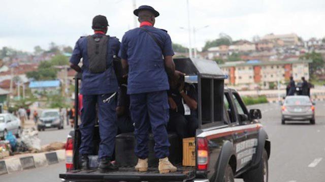 NSCDC Officials. Photo: Guardian Nigeria