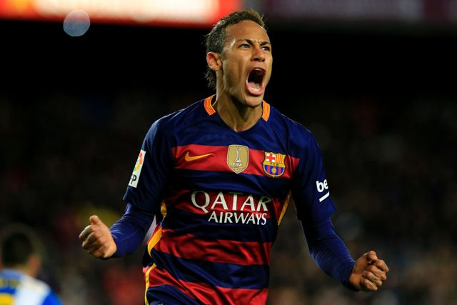 Neymar  AFP PHOTO/ PAU BARRENA / AFP / PAU BARRENA
