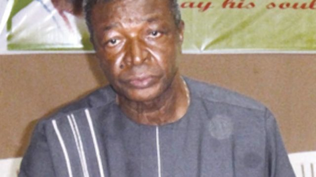 Secretary General of Ohanaeze Ndigbo, Dr. Joe Nwaorgu