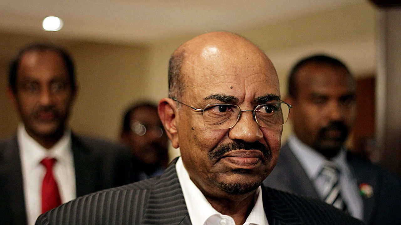 Omar al-Bashir. PHOTO:AFP