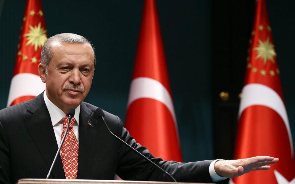 Turkish President Recep Tayyip Erdogan / AFP PHOTO / YASIN BULBUL