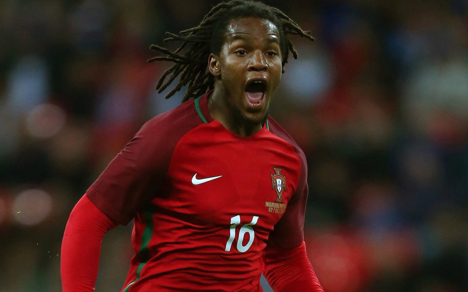 Renato Sanches. Photograph: Catherine Ivill - AMA/Getty Images/AFP