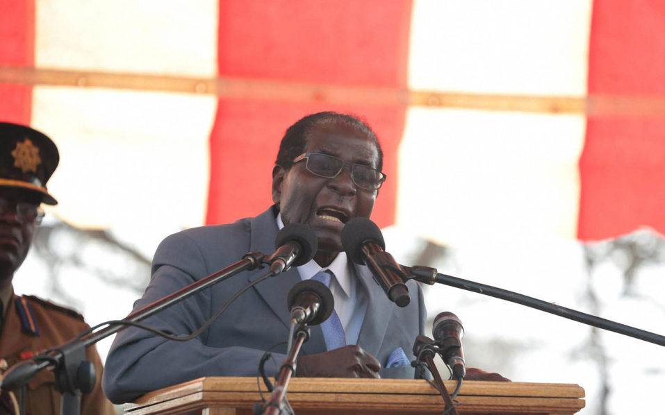 Robert Mugabe's spokesman defends 'sleeping' allegations
