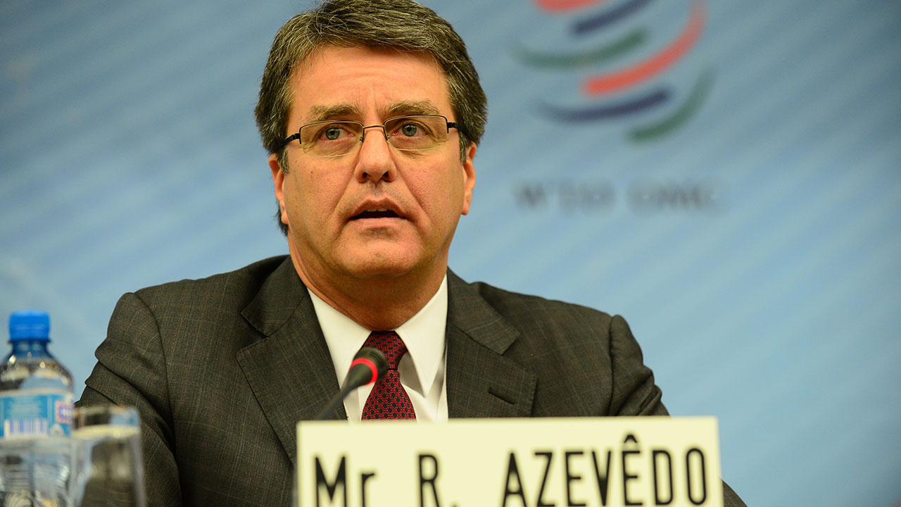 World Trade Organization, Director General, Roberto Azevedo