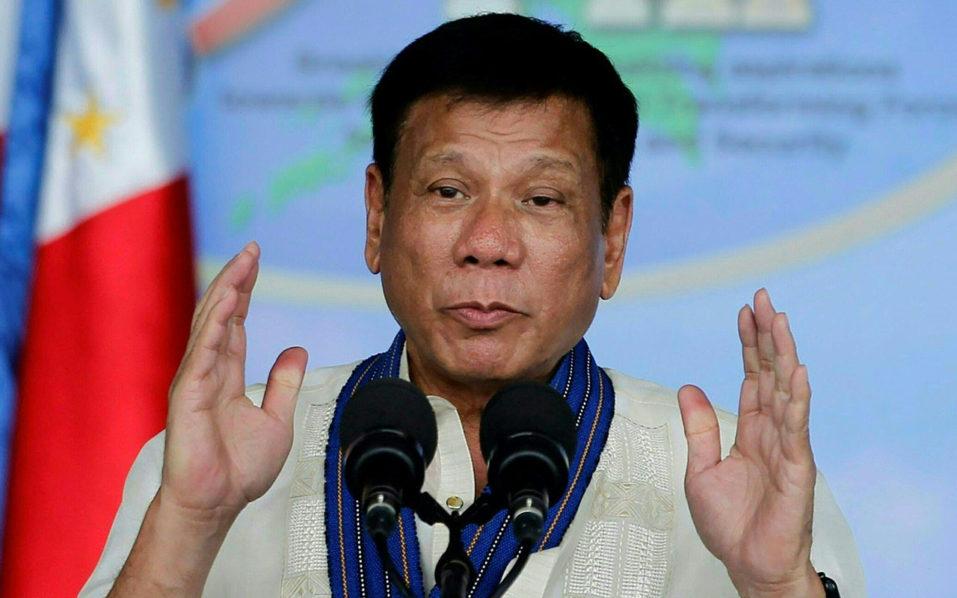 Rodrigo Duterte. / AFP PHOTO / Rey BANIQUET /