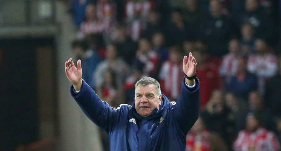 Sam Allardyce. / AFP PHOTO / SCOTT HEPPELL /